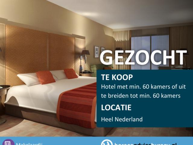 Hotels gezocht
